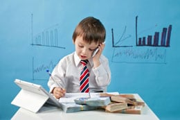 stock market for kids notes